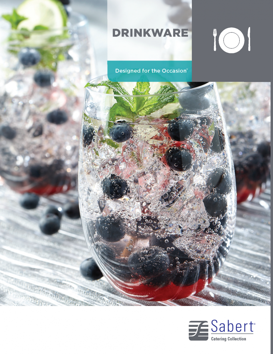 Catering Collection: Drinkware Brochure