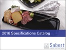 Sabert 2016 Specifications Catalog