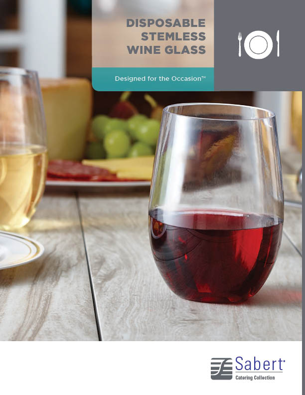 Catering Collection: Stemless Wine Glass