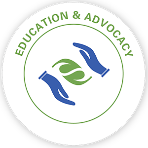Education & Advocacy pillar icon