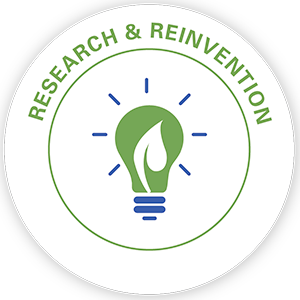 Research & Reinvention pillar icon