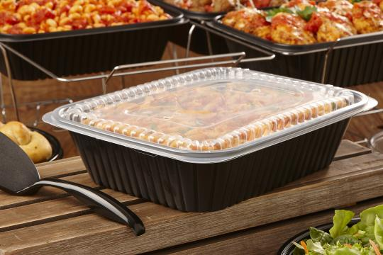 Clear Lid for 130 oz Catering Pan Sabert